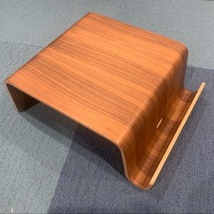 Corral Molded Wood Monitor Stand